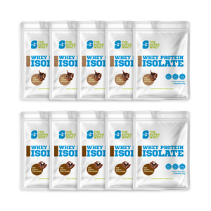 WHEY PROTEIN  ISOLATE - The Super Combo (MIX PACK OF 10)