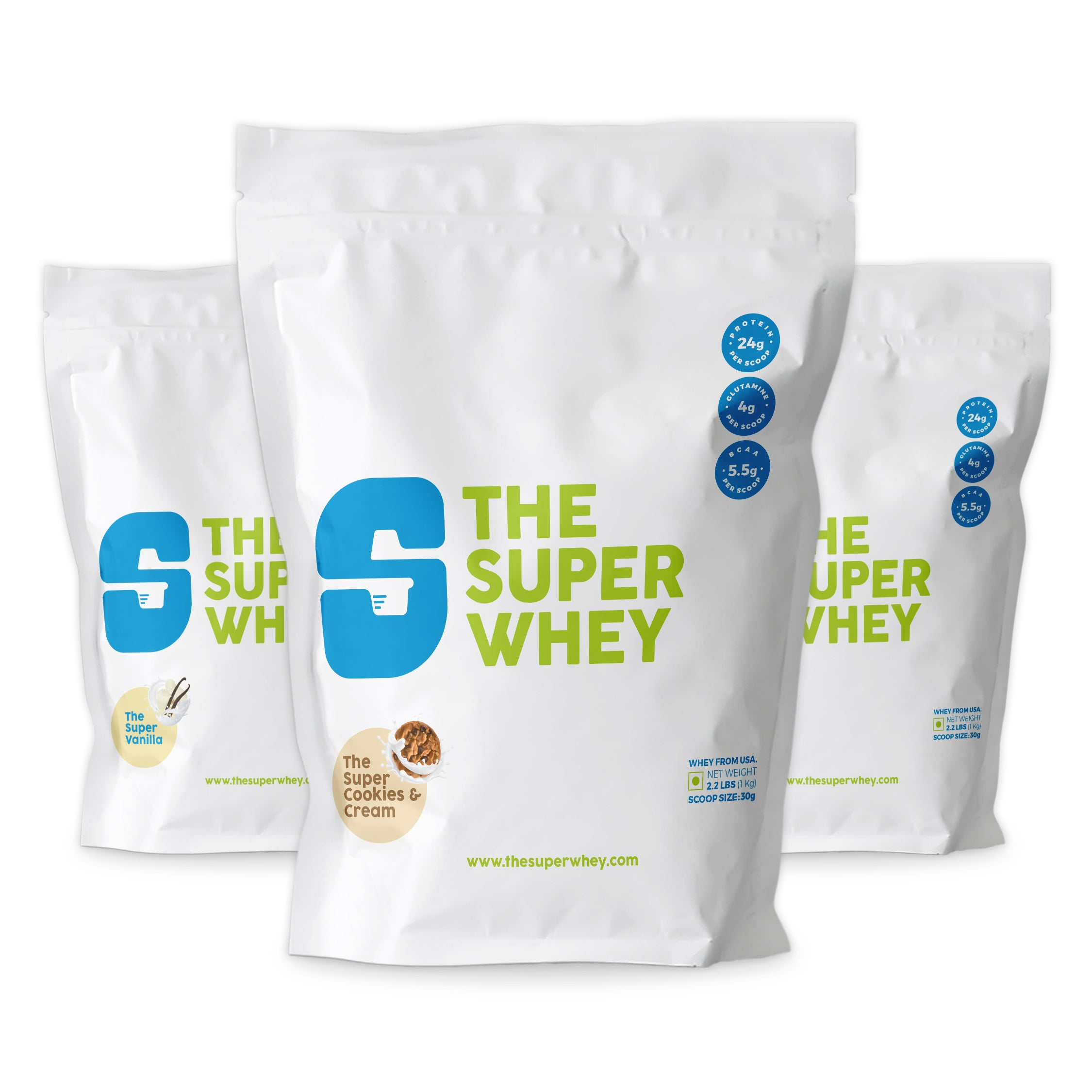 WHEY PROTEIN - The Super Cookies & Cream
