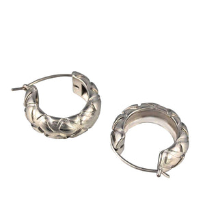 Red carbon fiber Spring clip stainless steel women hairpin headwear