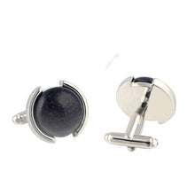 Load image into Gallery viewer, Holy Bible Sacred Word Matthew 19:6 Silver Carbon Fiber Black Stainless Steel Cuff Bangle Open Bracelet