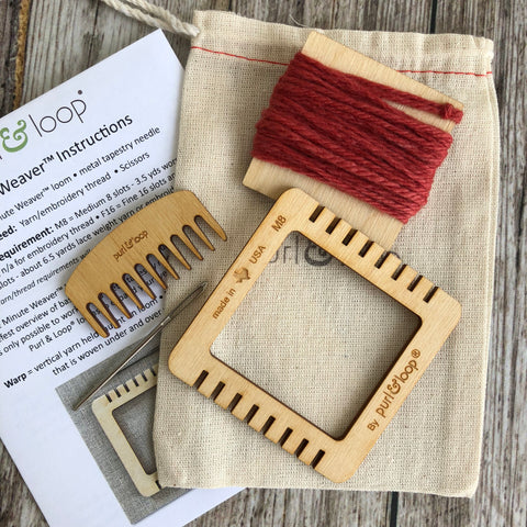 Micro Mini Weaving Loom - Minute Weaver