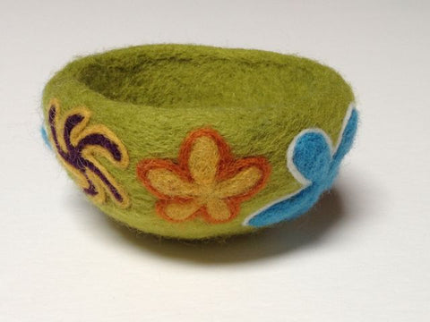 How To Make a Needle Felted Bowl PDF