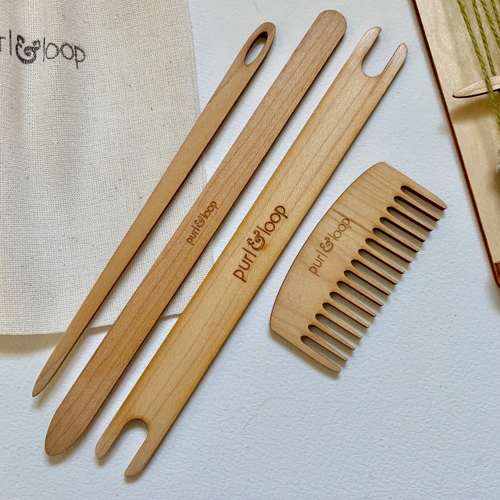 Weaving Accessory Bundle - Maple