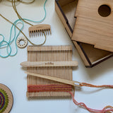 Wee Weaver™ Portable Weaving Loom
