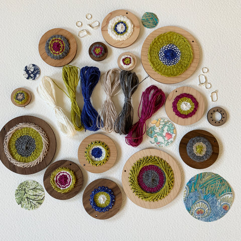 Woven Earring Kit +Yarn
