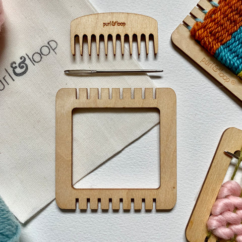 Minute Weaver - Micro Weaving Loom