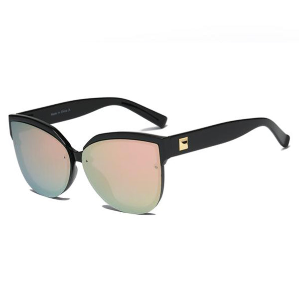 Round Cat's Eye Sunglasses