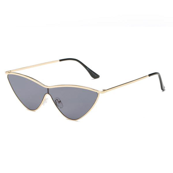 Retro Vintage Metal Cat's Eye Sunglasses