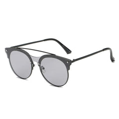 Unisex Bridge Round Tinted Sunglasses