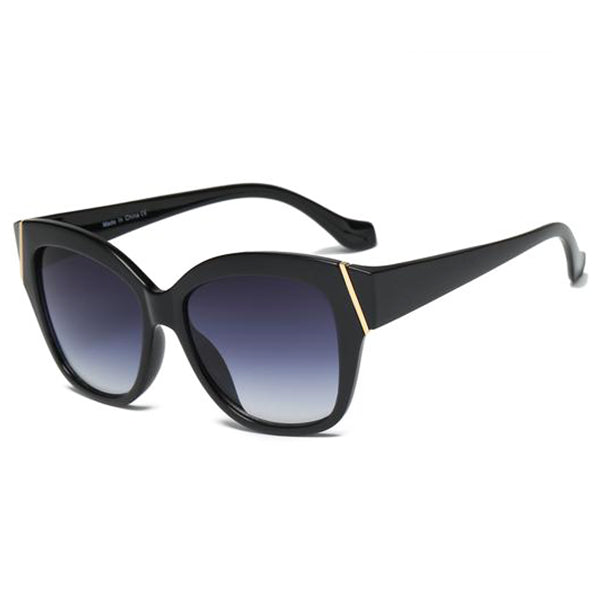 Retro Oversized Cat Eye Sunglasses