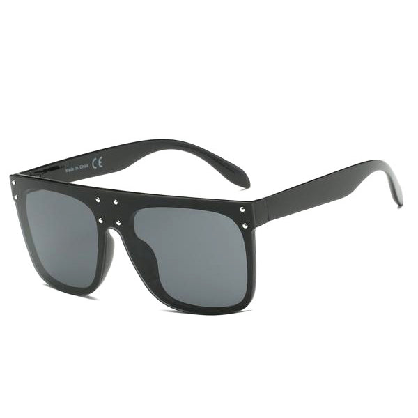 Square Oversized Flat Lens Sunglasses