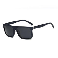 Classic Rectangular Polarized Flat Lens Sports