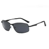 Rectangular Polarized Sports Sunglasses