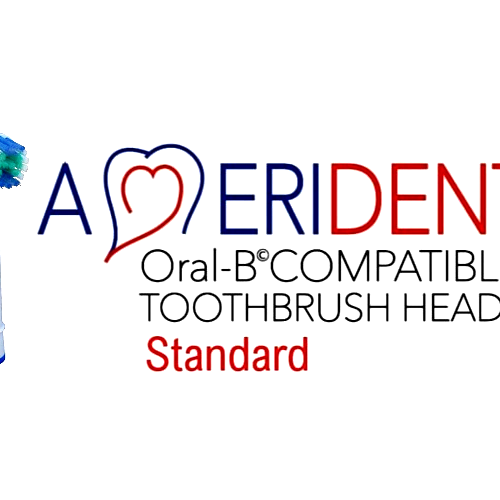 PACK OF 8 - ORAL-B COMPATIBLE TOOTHBRUSH HEADS