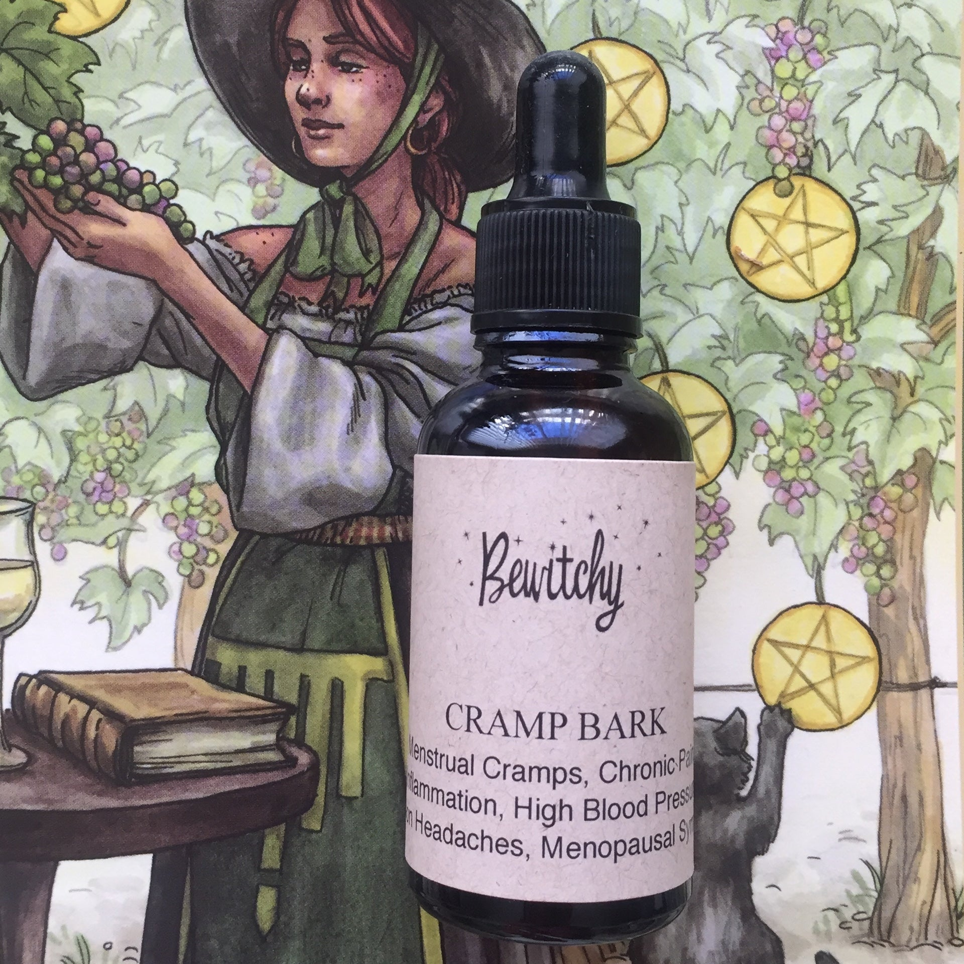 Cramp Bark herbal tincture