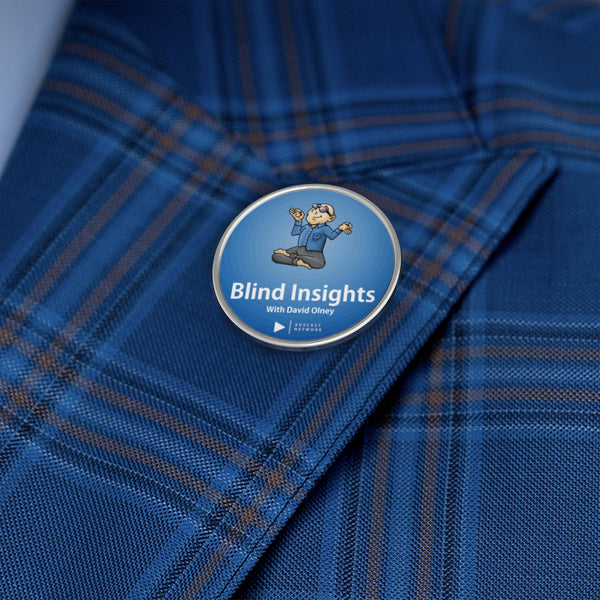Blind Insights Metal Pin (classic logo)