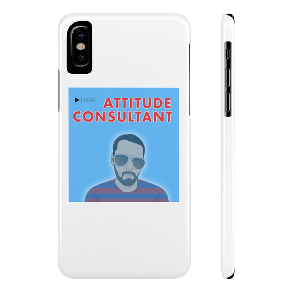 Attitude Consultant Case Mate Slim Phone Cases