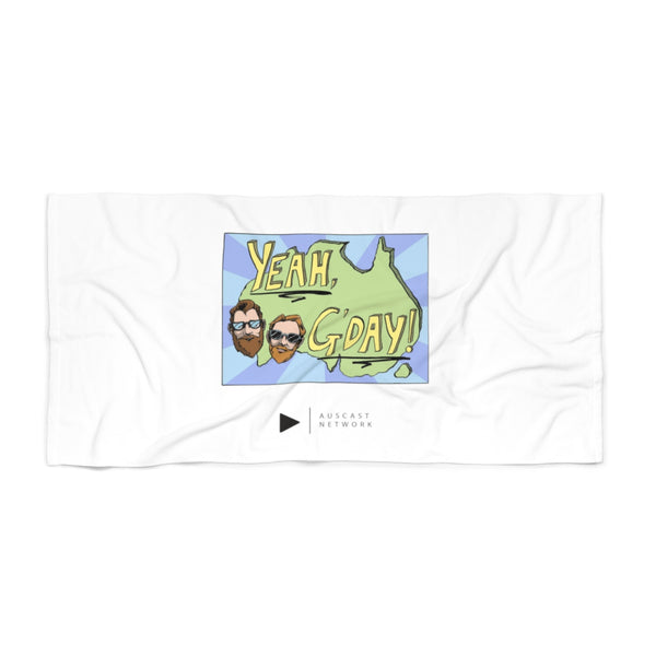 Yeah G'day Beach Towel