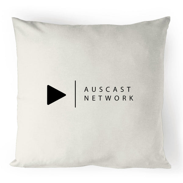 Auscast Network - 100% Linen Cushion Cover