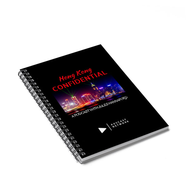 Hong Kong Confidential Spiral Notebook - Ruled Line
