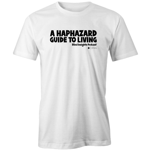 A Haphazard Guide To Living' - Blind Insights (black font) - AS Colour - Classic Tee