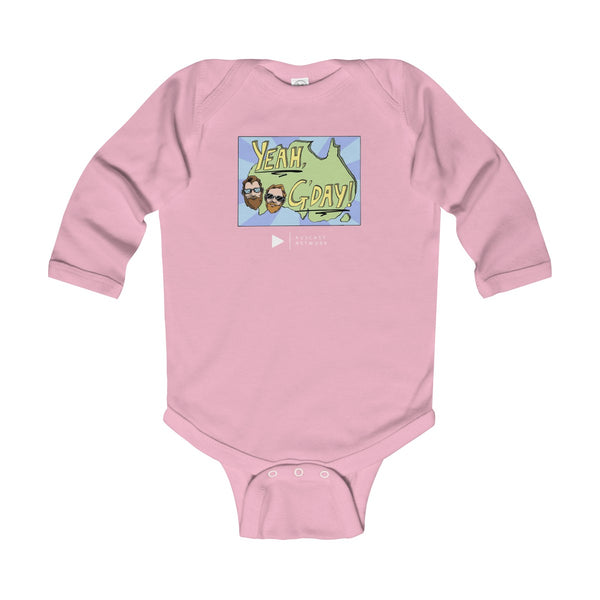 Yeah G'Day Infant Long Sleeve Bodysuit