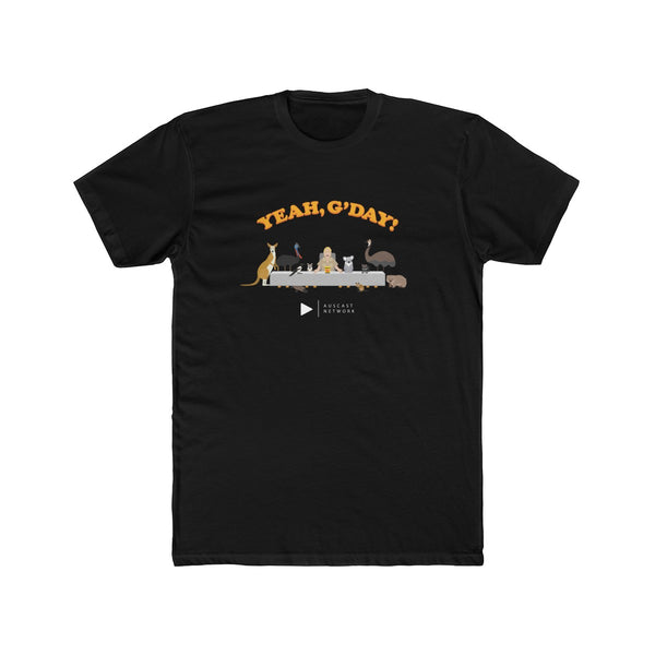 Team G'Day Men's Cotton Crew Tee