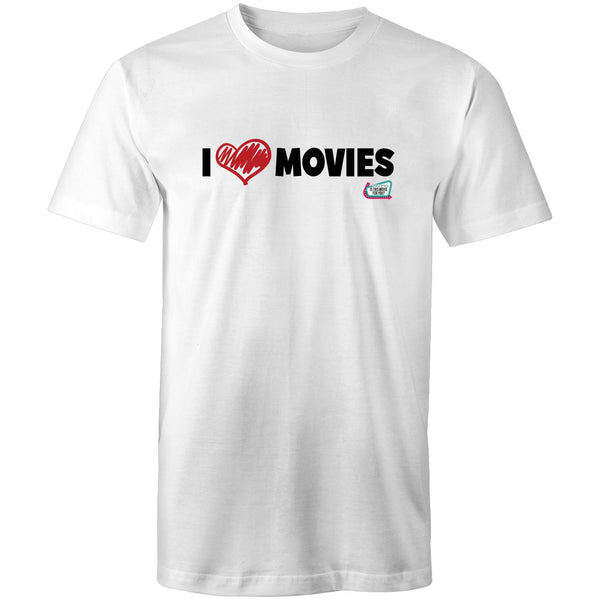 'I Love Movies' - Is This Movie For You? (black font) - AS Colour Staple - Mens T-Shirt
