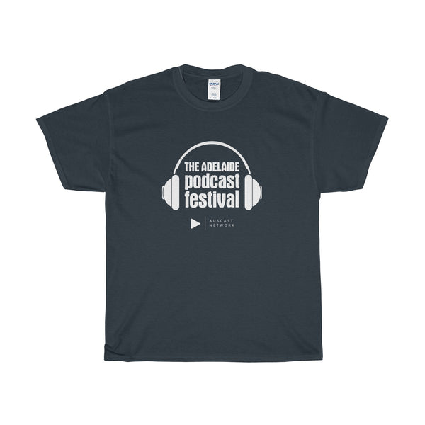 Adelaide Podcast Festival Unisex Heavy Cotton Tee