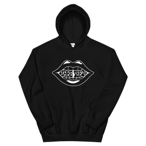 Babeteeth Mouth Outline Hoodie (front/back)