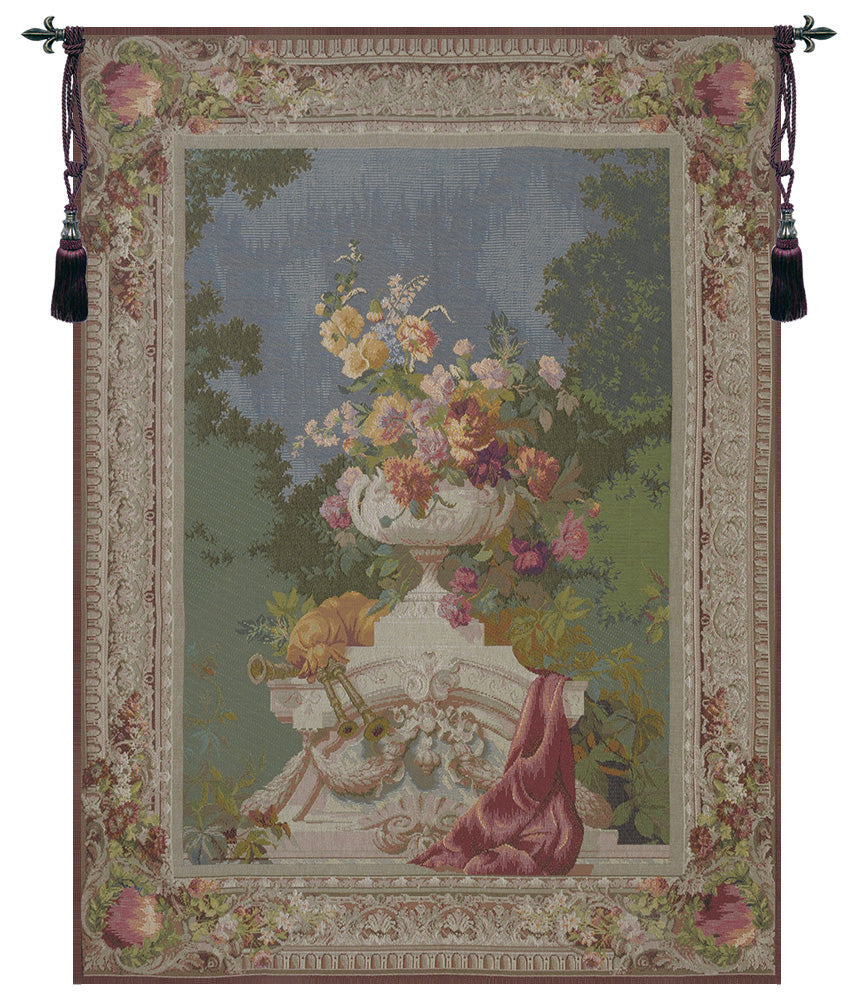 Ornamental Floral  French Tapestry
