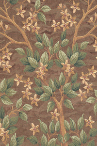 Tree of Life Brown I European Tapestry