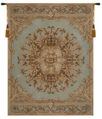Les Rosaces in Blue French Tapestry
