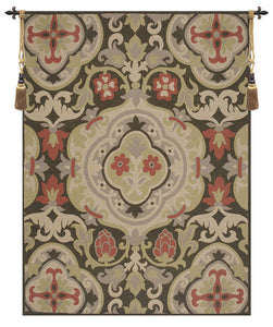 French Antique French Tapestry