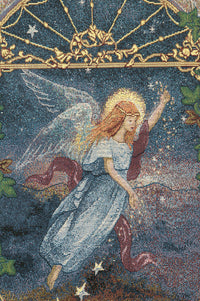 Angel of Wishes Tapestry Table Runner