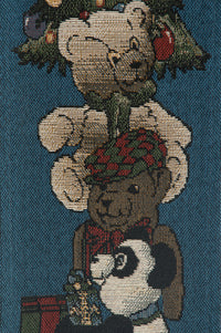 The Bear Club Tapestry Bell Pull