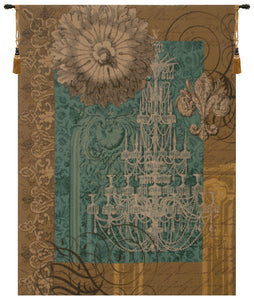 Le Grand Lustre Blue French Tapestry