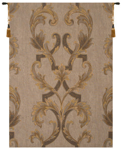 Leaf Brocade French Tapestry