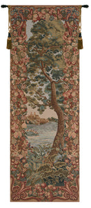 Verdure Castle Landscape Left European Tapestry