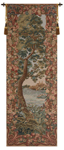 Verdure Castle Landscape Right European Tapestry