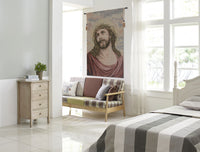 Christ Thorn's on Head European Tapestries