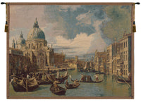 Saint Mary of Health and the Grand Canal Horizontal Italian Tapestry Wall Hanging