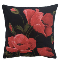 Poppies Large European Cushion Cover