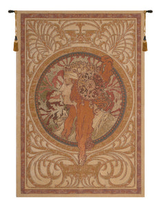 Mucha Donna Orechini Light European Tapestry