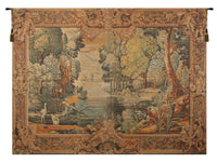 Verdure Au Lac French Tapestry Wall Hanging