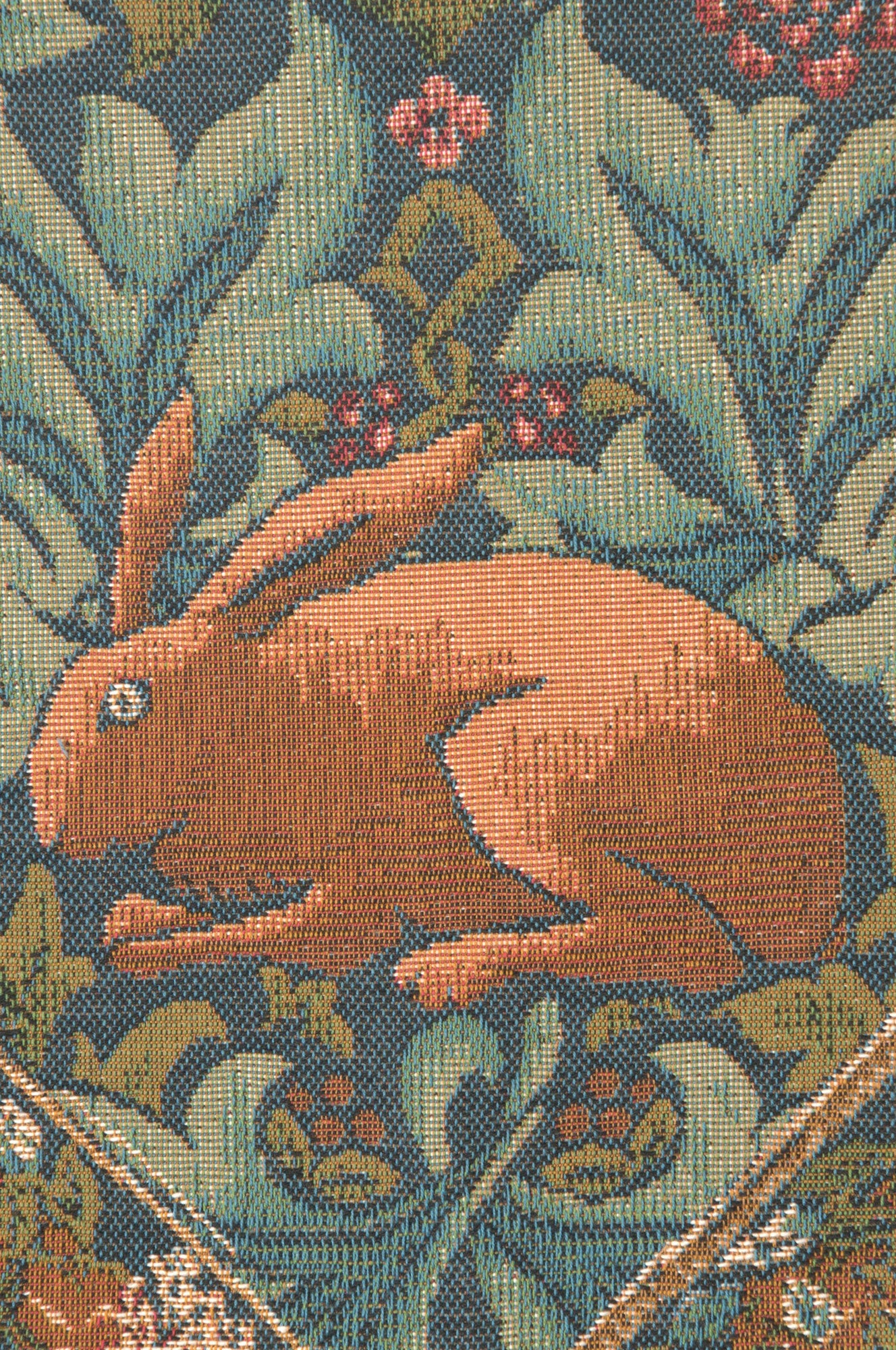 Brother Rabbit Small French Tapestry Table Runner