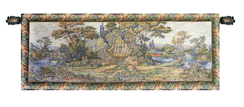 Fountain Italian Tapestry Wall Hanging
