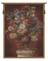 Bouquet Exemplar Red French Tapestry