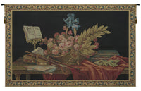 Violin & Flowers European Tapestries