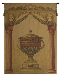 Filigrie Urn Pediment European Tapestry